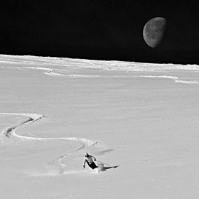 ...and SKI you on the dark side of the moon...
