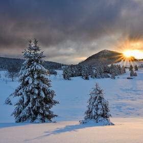 Svítání na Jizerce...