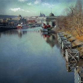 řeka,moje láska