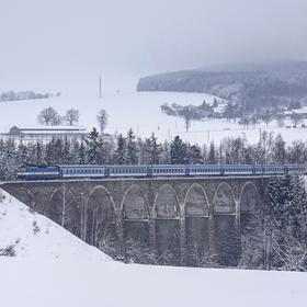 Viadukt Sázava ve městě Sázava u Ždáru