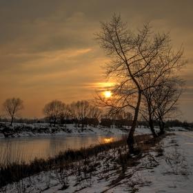 Januarový podvečer