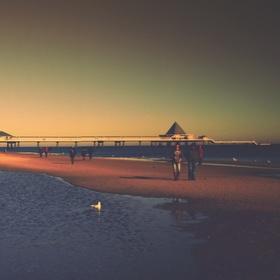 Usedom(ská) pláž