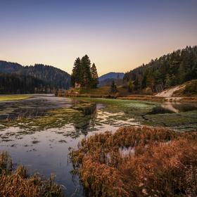 Podzimní Hubertussee