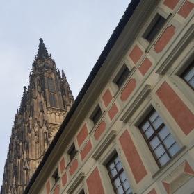Chrám svatého Víta je gotiky chlouba ....
