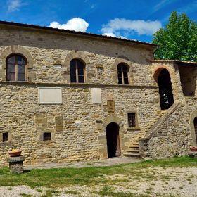 Pamětní dům v Toskánsku.