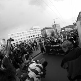 Fotografie z pochodu DSSS