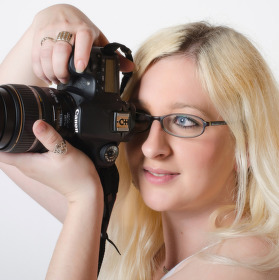 Fotografování fotografky