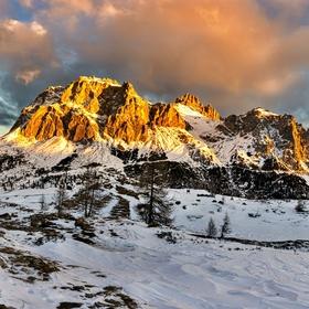 Dolomity - Lagazuoi ( 2835m )
