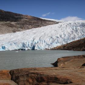 ledovcový splaz