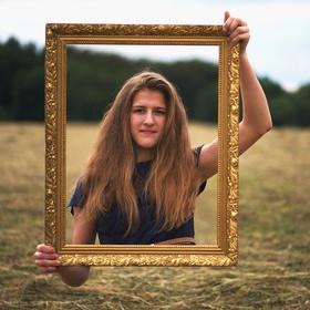 Obraz portrétu v přirozeném světle