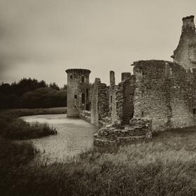 ...Caerlaverock Castle...