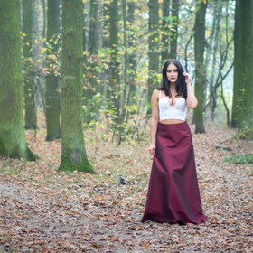 Kristýna v Milíčovském lese