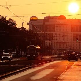 Vybarveno ranním sluncem