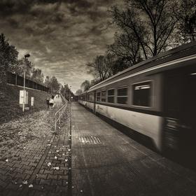 Zastávka na okraji města