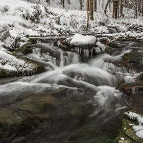 Trocha zimy z Beskyd