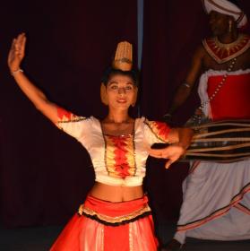 Tradiční tanečnice