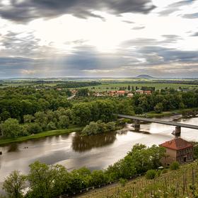 Pohled ze zámku