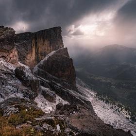 Zamračené Dolomity