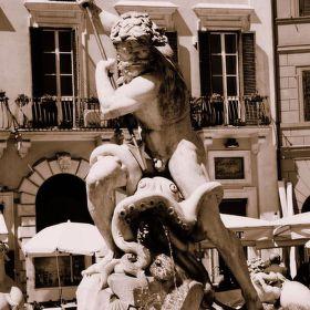 Piazza Navona - Neptunova Fontána