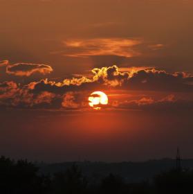 slunce k ránu