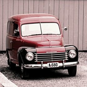Pošťácké Volvo