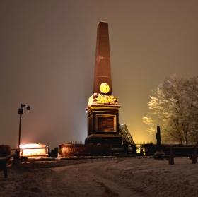 zimní  večer
