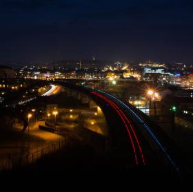 Nad Vítkovským tunelem