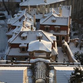 Malostranské střechy