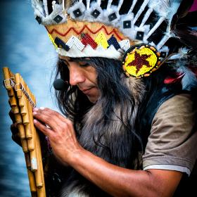 Indiáni v Praze
