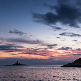 Lighthouse & Sundown