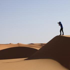 Saharské duny - Maroko