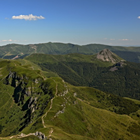 """Puy Mary"" Massif central"