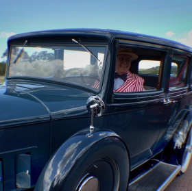 Veterán a jeho auto
