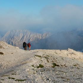 Putování v Julských Alpách