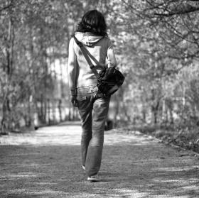 cesta za fotografií