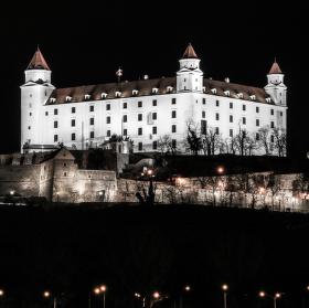 Nočná Bratislava....