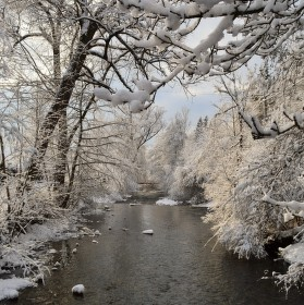 Zimnna rieka