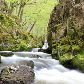 Skryjská jezírka a potok Zbiroh