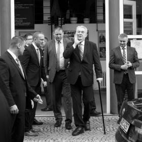 Návštěva prezidenta Miloše Zemana na Turnovské radnici 26.3.2015