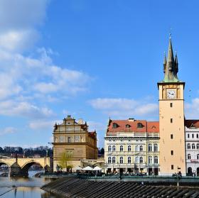 Pražské jarní panorama