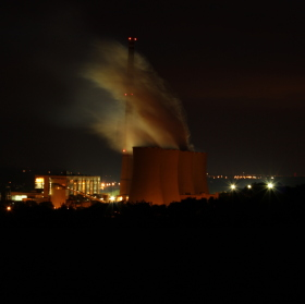noční elektrárna