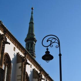 Lampa a věž