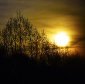 Slunce jde spát