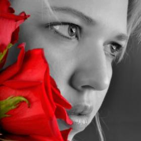 Oči a Růže