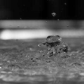 kapky vody a jejich kouzlo