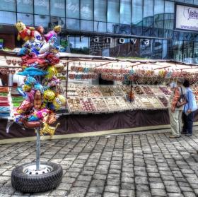 Obchod s perníkem na Zahájení lázešnoé sezony v Teplicích