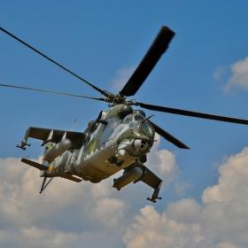 Mi-24 Tigerś flight - Reconnaissance mission