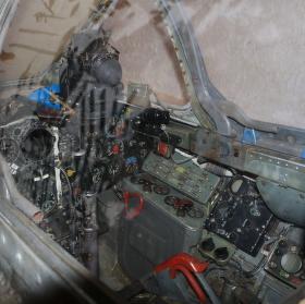 MIG 17 cockpit