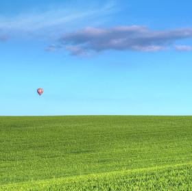 Balón nad poli