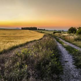 cestou na západ